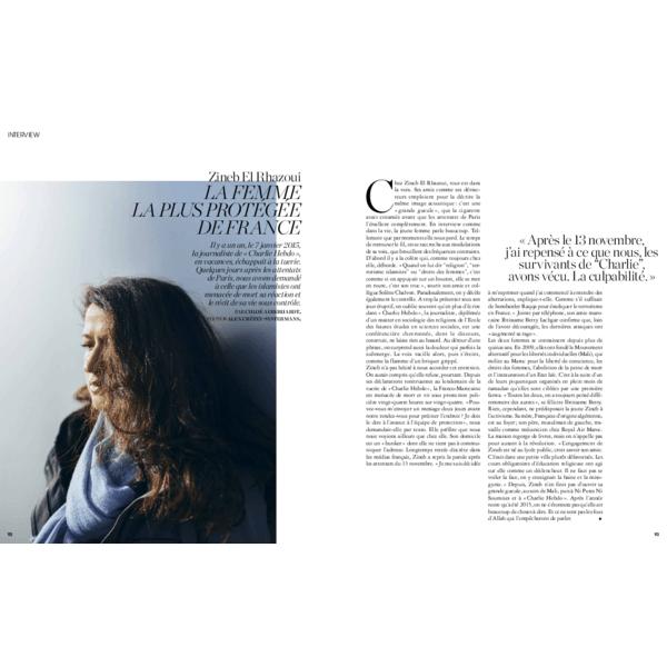 Zineb El Rhazoui. La femme la plus protégée de France
