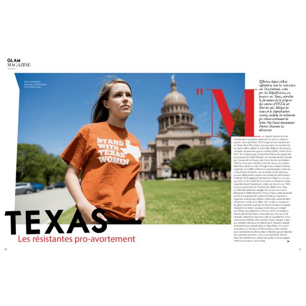 Texas. Les résistantes pro-avortement