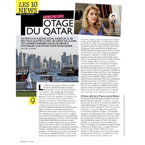 Otage du Qatar