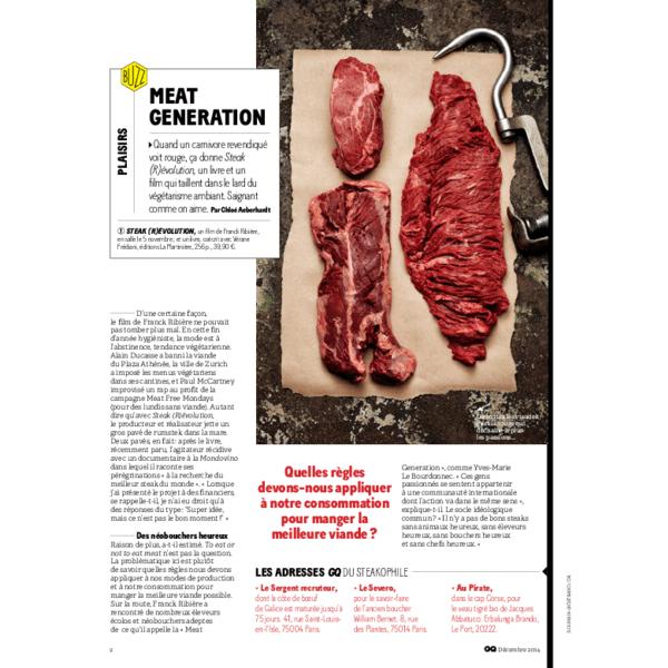 Meat Generation