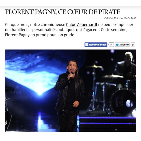 Florent Pagny, ce coeur de pirate